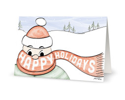 Flipt Pictures Happy Holidays Greeting Card