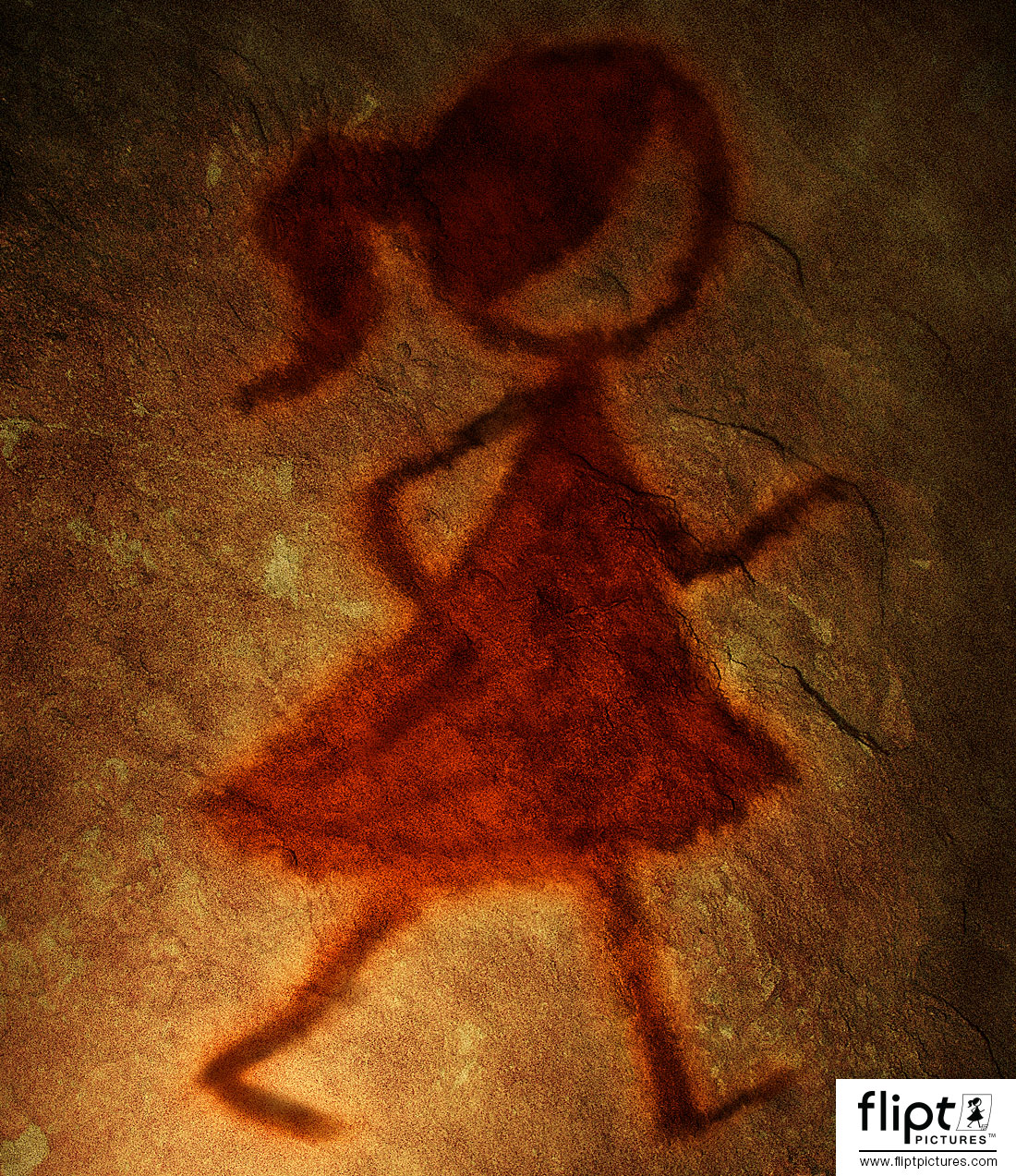 Flipt Pictures Cave Art Illustration